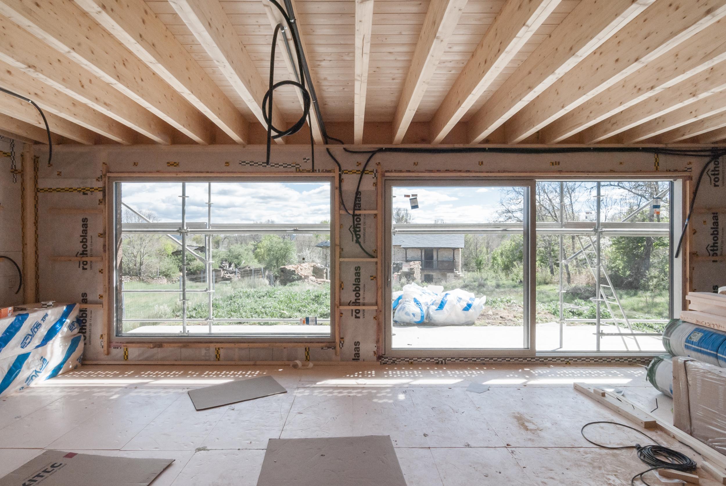 Vivienda Passivhaus en Triufé - Construccion