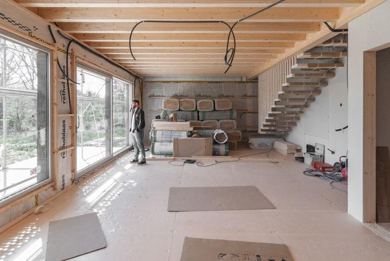 Vivienda Passivhaus en Triufé - COANDA PASSIVHAUS - en Construccion